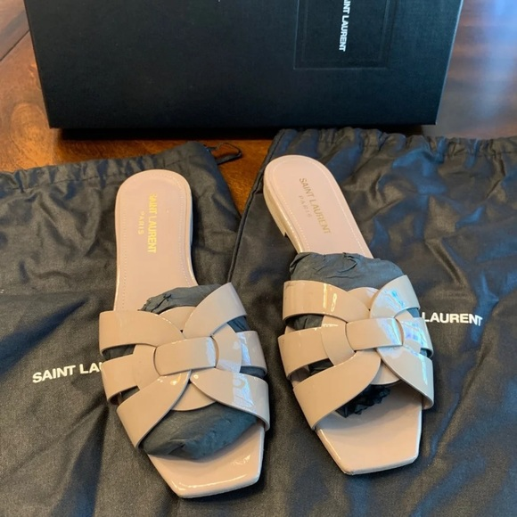 Saint Laurent Shoes   Sale Flat Sandals